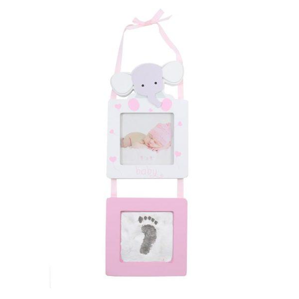 Pink Elephant Photo Frame