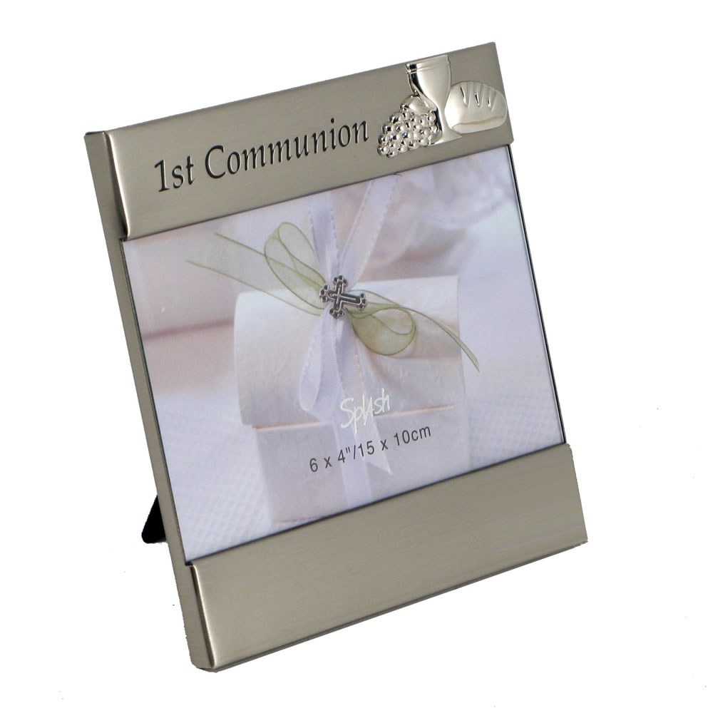 First Communion Photo Frame La Rondine Occasions
