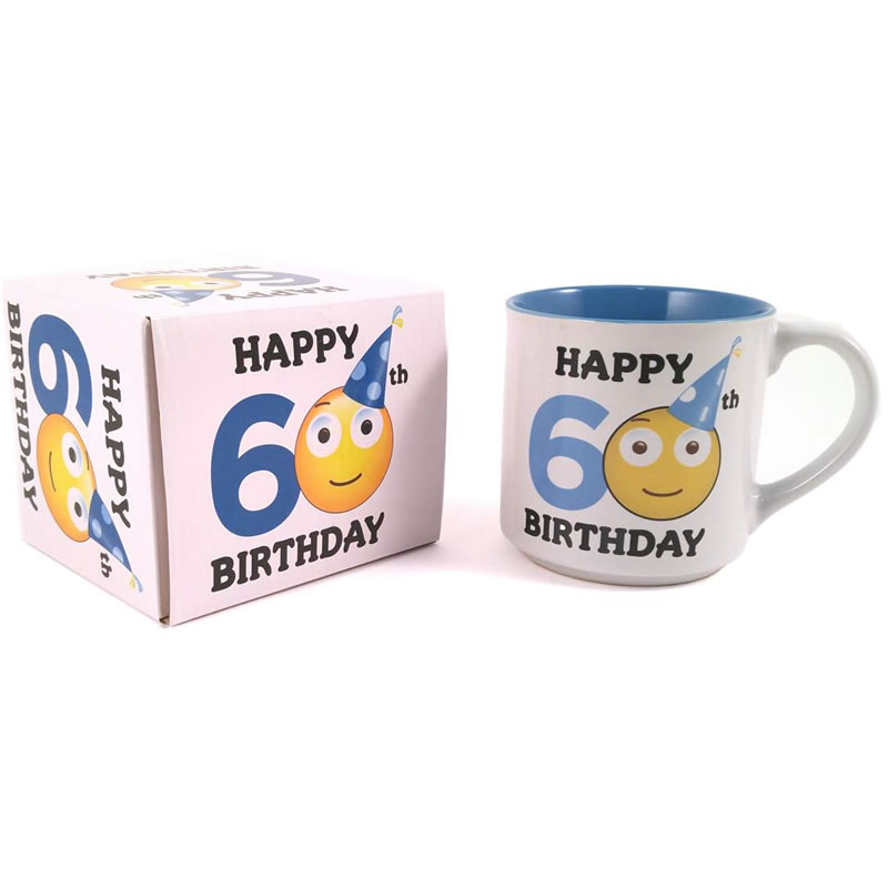 60th Birthday Mug