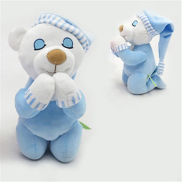 Praying Plush Bear