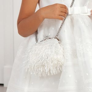 Abel & Lula Girl's White Purse