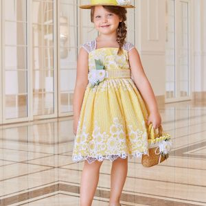 Abel & Lula Yellow Sun Dress
