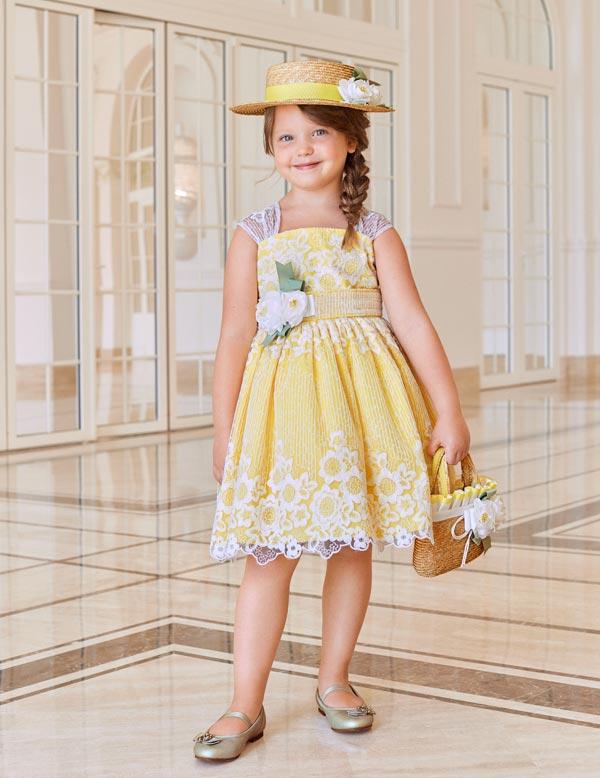 Abel & Lula Yellow Sun Dress